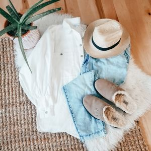 Topshop Nordstrom button up top